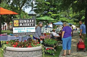 Downtown Baraboo Sunday Market